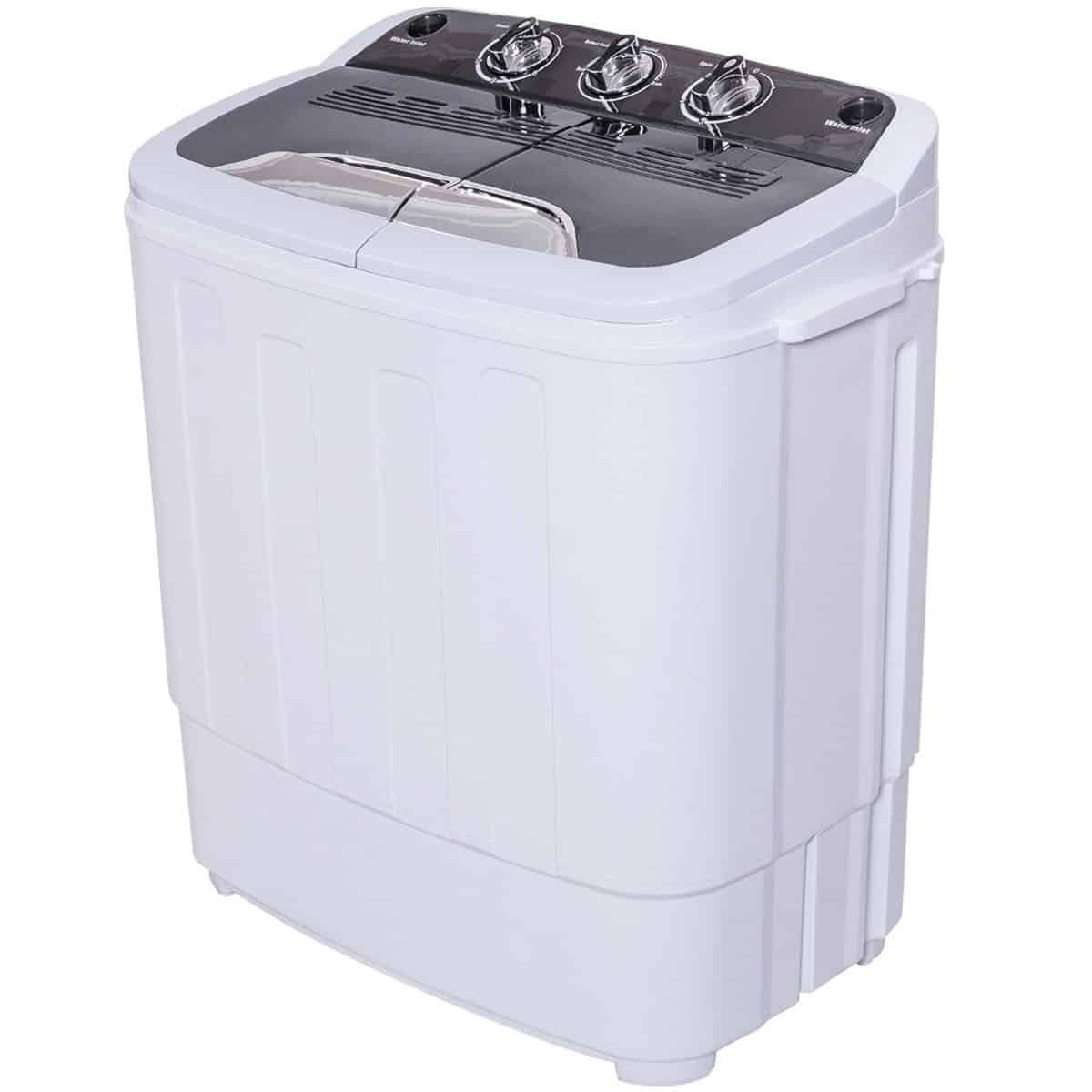 Giantex portable compact 13 lbs. mini twin tub washing machine washer